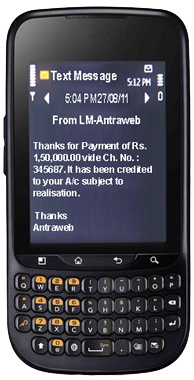 Download Free Tally SMS Module - Antraweb Technologies