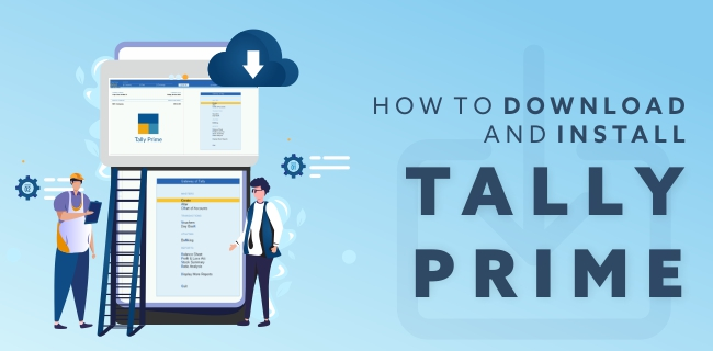 How to download and install Tally Prime