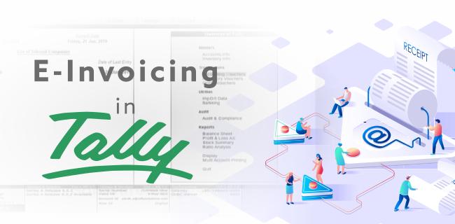 E-Invoicing In Tally