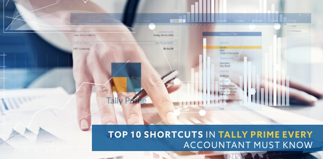 Top 10 shortcuts in Tally Prime every accountant must know