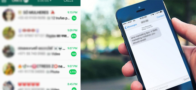 SMS vs WhatsApp - Who is winning in the battle of business communication?
